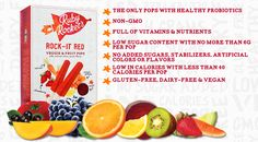 We're big fans of @rubysrockets organic fruit & veggie pops! Kids AND moms love them - easy, delicious, GOOD!