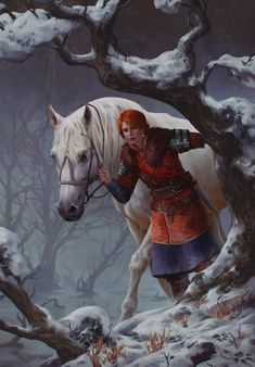 A new open PTR (Public Test Realm) has gone live for Gwent, CD Projekt Red's card game based on The Witcher. Players have already collected some beautiful new artwork for potential cards from it. Witcher Art, The Witcher 3, Character Concept, Character Art, Concept Art, Fantasy Kunst, Fantasy Art, Fantasy Inspiration, Character Inspiration