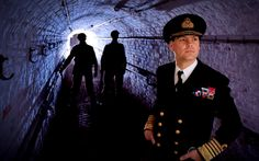 English Heritage WW2 Living History in the tunnels at Dover Castle Kent