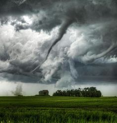 Tornadoes. I need to find pics of lightning over cemetaries..