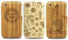 wood ipod case