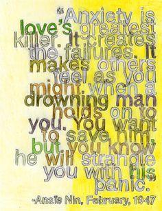 Anaïs Nin on Love by Debbie Millman por BrainPickings en Etsy