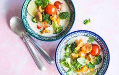 Vegetable soup recipe at Ruoka.fi, Kasviskeitto thaimaalaisittain, resepti: Ruoka.fi