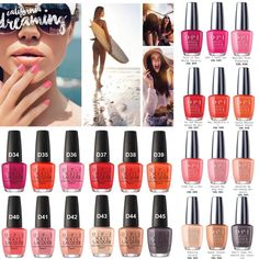 OPI Summer 2017 - California Dreaming