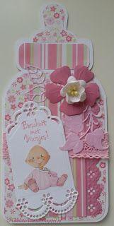 Nicolette's kaarten: Beschuit met muisjes