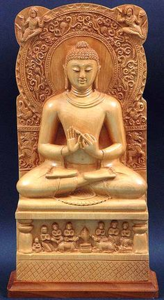 Ancient Indian Sculptures Of Buddha Buddha image under the guptas