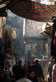 Markets of Fez, Morocco / places I've been during my study aboard