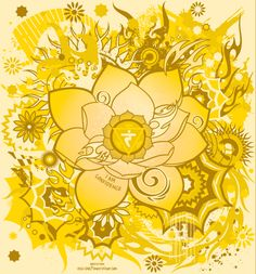 Manipura: The Navel Chakra - Solar Plexus by Saintbirdy on deviantART