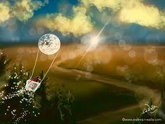 Licht und Liebe verteilt sich von oben einfach besser in der Welt. 😉   Make Myday die Abenteuer der kleinen Fee als Kalender http://www.spielweltv3galerie.com/shop/make-myday/