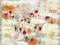 the colour of ideas: Joan Snyder: A Year In The Painting Life