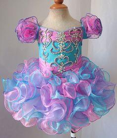 Infant/toddler/kids/baby/children Girl's Pageant/prom Dress/clothing 1-6T G080-1    eBay