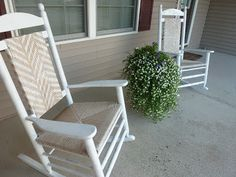Cracker Barrel chairs makeover