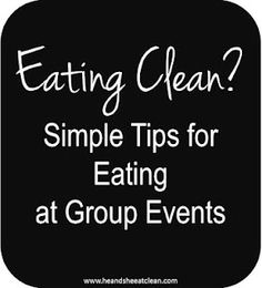 Need advice for staying on track with your diet at work and family functions? Don't eat that donut - follow these simple rules. #eatclean #cleaneating #diet #nutrition #heandsheeatclean
