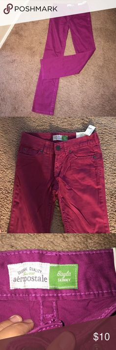 girls pants brand new; skinny pants;regular pants size 3/4 Aeropostale Bottoms