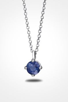 A Blue Nile sapphire pendant with a platinum cable chain is a beautiful choice to the mod bride. Platinum Wedding Rings, Platinum Jewelry, Platinum Engagement Rings, Platinum Ring, Modern Bridal Jewellery, Wedding Jewellery Inspiration, Bridal Jewelry, Rustic Wedding Rings, Sapphire Pendant
