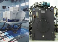 www.baatraining.com Did you ever realise how much oil is needed for a Full Flight Simulator hydraulic motion system?  For example, the B737 Full Flight Simulator has from 1820 to 2040 liters oil in a reservoir.