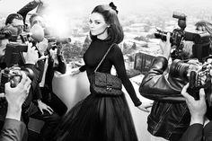 Мила Кунис в рекламе Dior