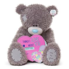 "28"" Things I Love About You Spinner Me to You Bear  £59.99"