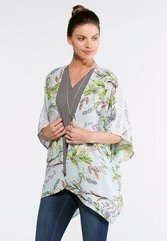 b4ac0dd6589 Cato Fashions Spring Bloom KimonoPlus  CatoFashions Spring Blooms