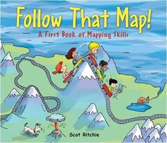 Explains and demonstrates key mapping concepts, discussing the use of symbols, legends, a compass, scale, landmarks, and gridlines, along with instructions for making a map of a bedroom. (Grades: K-3) Call number: GA105.6 .R58 2009