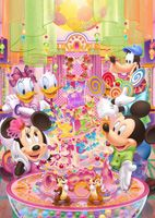 TEN-D300-262 ディズニー キャンディ パーティー 300ピース ジグソーパズル[CP-D]