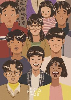 58 New ideas funny photos humor watches Korean Art, Korean Drama, Character Illustration, Illustration Art, Korean Illustration, Ryu Jun Yeol, Friends Episodes, Cute Cartoon Wallpapers, Graphic Design Posters