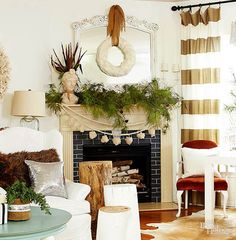 40+ Christmas Garland Decorating Ideas All About Christmas