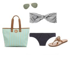 """""""Consuela❤️"""" by ava-lindsey ❤ liked on Polyvore featuring 3.1 Phillip Lim, J.Crew, Ray-Ban and Tory Burch"""
