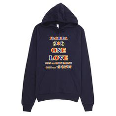 1152-H ... FLORIDA ... Area Code 305 ... ONE LOVE ... HOODIE