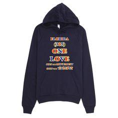1152-H ... FLORIDA ... Area Code 305 ... ONE LOVE ... HOODIE