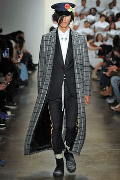 See the complete Pyer Moss Fall 2016 Menswear collection.