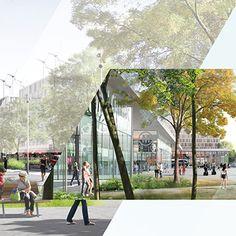 Conception et réalisation de la plaquette de présentation du Cluster Descartes situé dans la ville nouvelle de Marne-la-Vallée