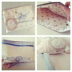 Free Bird Gypsy Pouch Made from all vintage and reclaimed fabrics Vintagemarketplace.etsy.com