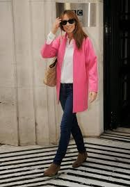 Image result for alex jones pink coat