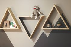 Picture of How to Make Triangle Shelves