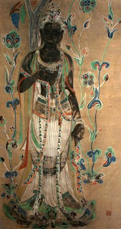 """""""He who knows others is wise. He who knows himself is enlightened."""" —Lao-tzu (Buddhist Painting from Dunhuang) ..*"""