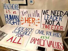 Image result for best signs from the women's march