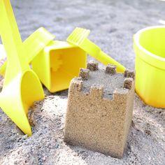 3D printable sand play set plage jeu impression 3D seau rateau chateau de sable moule fichier STL cults 1