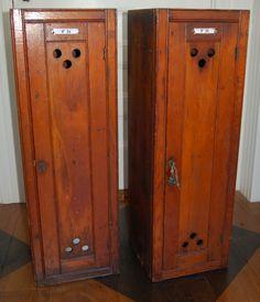 Re use lockers?
