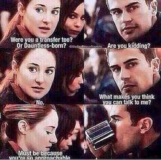 Sassy Four. #Divergent