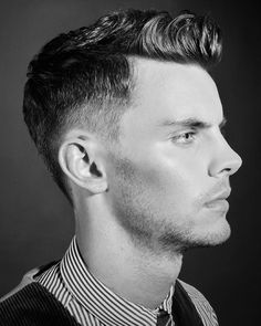 Jordan could totally rock this Mad Men haircut! He's almost there.