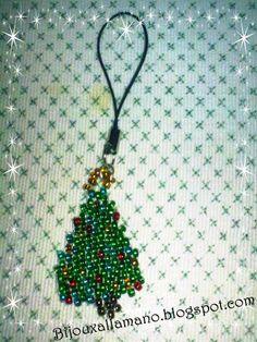 Phone strap Albero di Natale