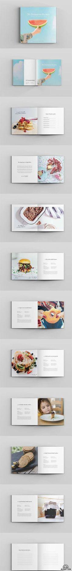 Cira Square Recipe Book Template 650303