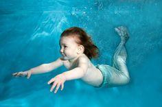 sweet mermaid girl