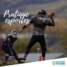 Deixe a preguiça de lado e mexa esse corpo 🎾🏀🏈⚽ #Esporte #Fitness #saúde #ProAtiva
