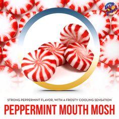 The peppermint flavor you love. #vape #ejuice #eliquid