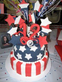 cute 4th of july cake.