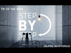 ▶ Tip Of The Week: Create Realistic Water Puddles In 3dsmax - YouTube