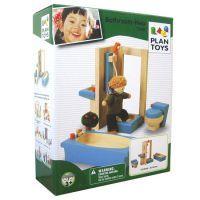 PLAN TOYS Bathroom Furniture - Neo $31.90 www.mamadoo.com.au #mamadoo #woodentoys