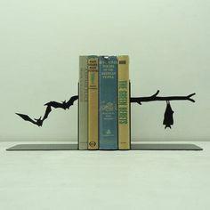 Bat book ends